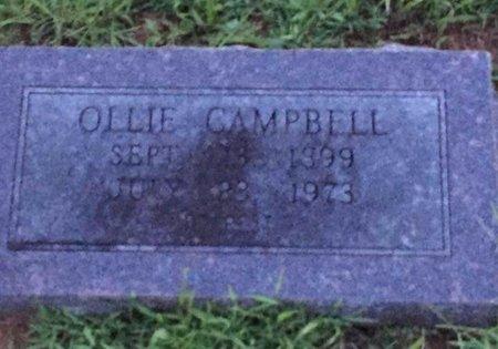 CAMPBELL, OLLIE - Little River County, Arkansas | OLLIE CAMPBELL - Arkansas Gravestone Photos