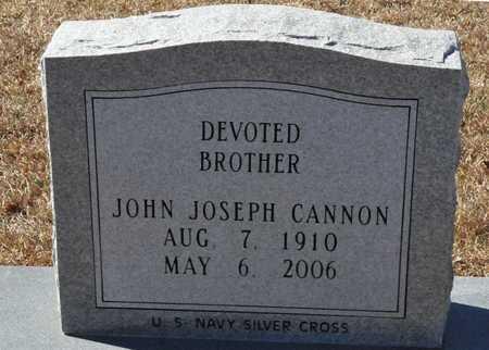 CANNON (VETERAN), JOHN JOSEPH - Little River County, Arkansas | JOHN JOSEPH CANNON (VETERAN) - Arkansas Gravestone Photos