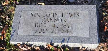 CANNON, JOHN LEWIS,REV - Little River County, Arkansas   JOHN LEWIS,REV CANNON - Arkansas Gravestone Photos