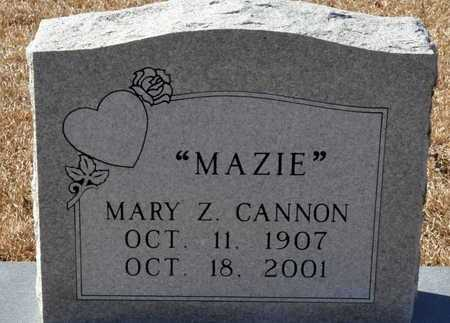 CANNON, MARY Z - Little River County, Arkansas   MARY Z CANNON - Arkansas Gravestone Photos