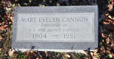 CANNON, MARY EVELYN - Little River County, Arkansas   MARY EVELYN CANNON - Arkansas Gravestone Photos