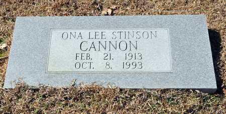 STINSON CANNON, ONA LEE - Little River County, Arkansas | ONA LEE STINSON CANNON - Arkansas Gravestone Photos