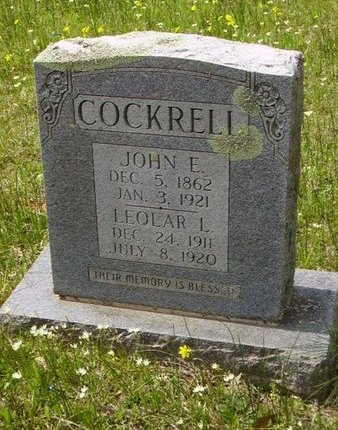 COCKRELL, JOHN E - Little River County, Arkansas | JOHN E COCKRELL - Arkansas Gravestone Photos