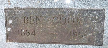 COOK, BEN - Little River County, Arkansas   BEN COOK - Arkansas Gravestone Photos