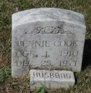 COOK, BENNIE - Little River County, Arkansas | BENNIE COOK - Arkansas Gravestone Photos