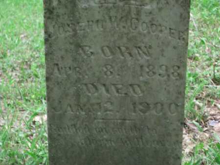 COOPER, JOSEPH W. - Little River County, Arkansas | JOSEPH W. COOPER - Arkansas Gravestone Photos