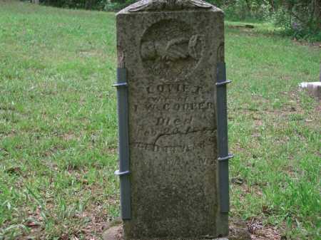 COOPER, LOVIE TELISSIE - Little River County, Arkansas | LOVIE TELISSIE COOPER - Arkansas Gravestone Photos
