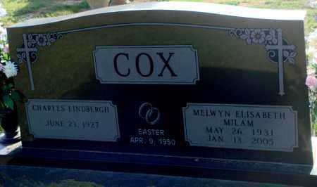 COX, MELWYN ELISABETH - Little River County, Arkansas | MELWYN ELISABETH COX - Arkansas Gravestone Photos