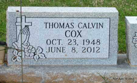 COX, THOMAS CALVIN - Little River County, Arkansas | THOMAS CALVIN COX - Arkansas Gravestone Photos