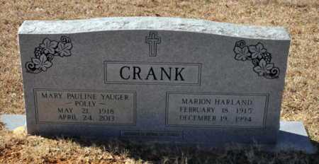 YAUGER CRANK, MARY PAULINE - Little River County, Arkansas | MARY PAULINE YAUGER CRANK - Arkansas Gravestone Photos