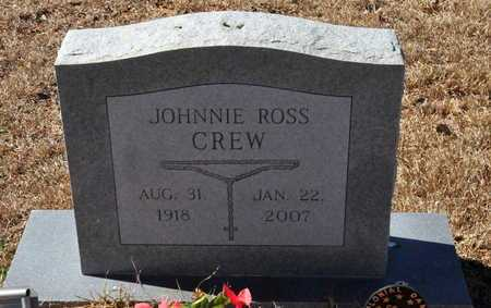 CREW, JOHNNIE ROSS - Little River County, Arkansas | JOHNNIE ROSS CREW - Arkansas Gravestone Photos