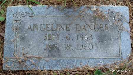 DANCER, ANGELINE - Little River County, Arkansas | ANGELINE DANCER - Arkansas Gravestone Photos