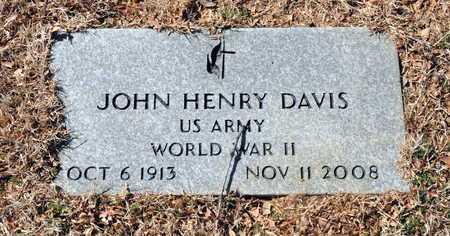 DAVIS (VETERAN WWII), JOHN HENRY - Little River County, Arkansas | JOHN HENRY DAVIS (VETERAN WWII) - Arkansas Gravestone Photos