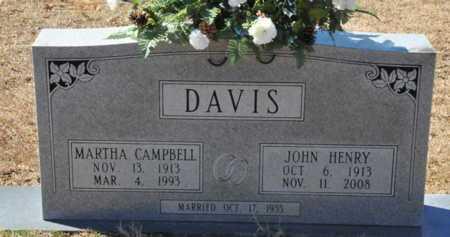 DAVIS, JOHN HENRY - Little River County, Arkansas | JOHN HENRY DAVIS - Arkansas Gravestone Photos
