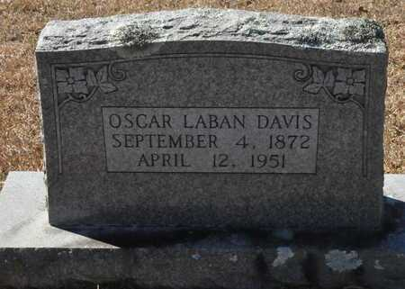 DAVIS, OSCAR LABAN - Little River County, Arkansas | OSCAR LABAN DAVIS - Arkansas Gravestone Photos
