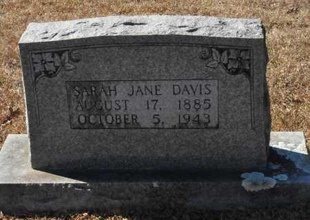 DAVIS, SARAH JANE - Little River County, Arkansas | SARAH JANE DAVIS - Arkansas Gravestone Photos