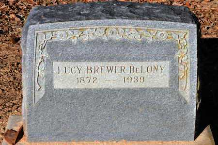 DELONEY, LUCY - Little River County, Arkansas | LUCY DELONEY - Arkansas Gravestone Photos
