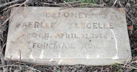 DELONEY, PAERLEE LUCELLE - Little River County, Arkansas   PAERLEE LUCELLE DELONEY - Arkansas Gravestone Photos