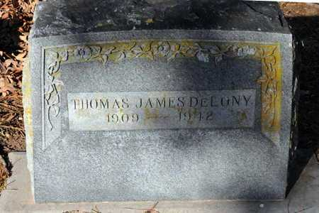 DELONEY, THOMAS JAMES - Little River County, Arkansas | THOMAS JAMES DELONEY - Arkansas Gravestone Photos
