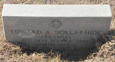 DOLLARHIDE (VETERAN WWII), EDWARD A - Little River County, Arkansas | EDWARD A DOLLARHIDE (VETERAN WWII) - Arkansas Gravestone Photos