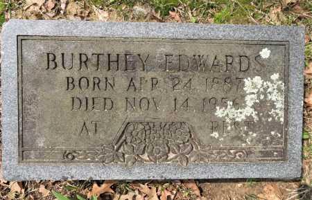 EDWARDS, BURTHEY - Little River County, Arkansas | BURTHEY EDWARDS - Arkansas Gravestone Photos