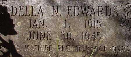 EDWARDS, DELLA N - Little River County, Arkansas   DELLA N EDWARDS - Arkansas Gravestone Photos