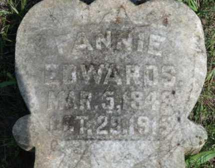 EDWARDS, FANNIE - Little River County, Arkansas | FANNIE EDWARDS - Arkansas Gravestone Photos