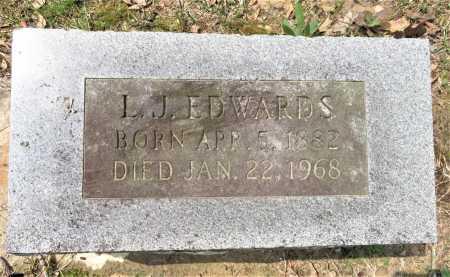 EDWARDS, L J - Little River County, Arkansas | L J EDWARDS - Arkansas Gravestone Photos