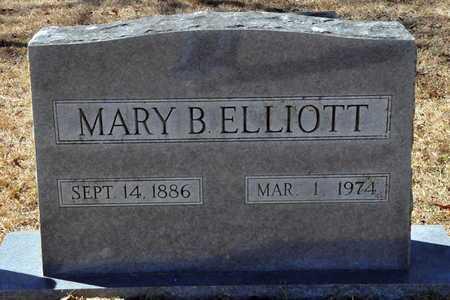 ELLIOTT, MARY B - Little River County, Arkansas   MARY B ELLIOTT - Arkansas Gravestone Photos