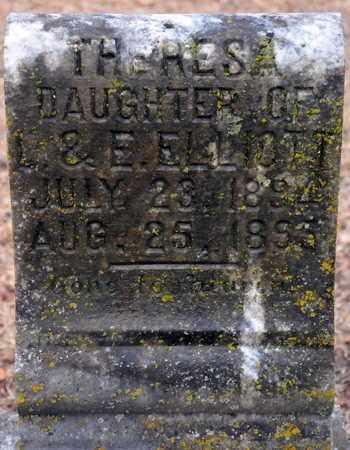 ELLIOTT, THERESA - Little River County, Arkansas   THERESA ELLIOTT - Arkansas Gravestone Photos