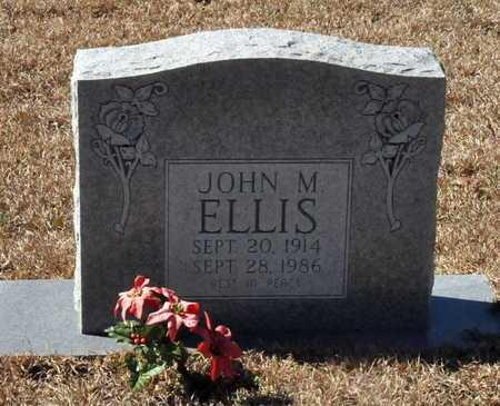 ELLIS, JOHN M - Little River County, Arkansas | JOHN M ELLIS - Arkansas Gravestone Photos