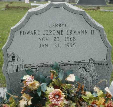 "ERMANN, II, EDWARD JEROME ""JERRY"" - Little River County, Arkansas   EDWARD JEROME ""JERRY"" ERMANN, II - Arkansas Gravestone Photos"