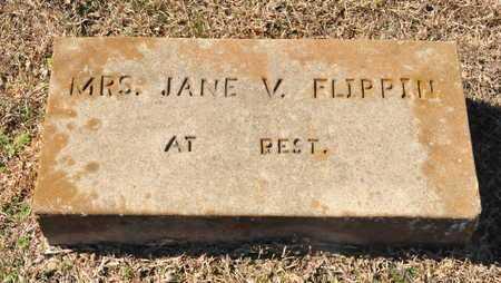 FLIPPIN, JANE V. - Little River County, Arkansas | JANE V. FLIPPIN - Arkansas Gravestone Photos