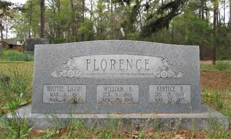 LIGON FLORENCE, HATTIE - Little River County, Arkansas | HATTIE LIGON FLORENCE - Arkansas Gravestone Photos