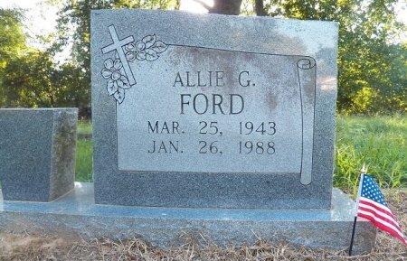 FORD, ALLIE G. - Little River County, Arkansas | ALLIE G. FORD - Arkansas Gravestone Photos