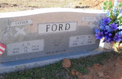 FORD, BETTY - Little River County, Arkansas | BETTY FORD - Arkansas Gravestone Photos