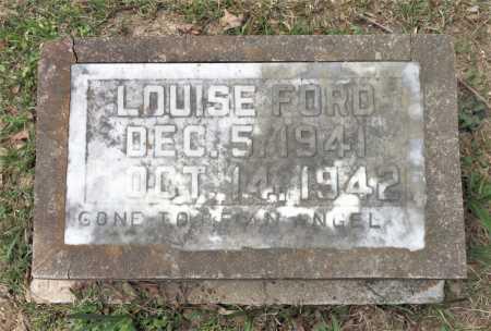 FORD, LOUISE - Little River County, Arkansas | LOUISE FORD - Arkansas Gravestone Photos