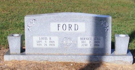 FORD, BERNICE - Little River County, Arkansas | BERNICE FORD - Arkansas Gravestone Photos