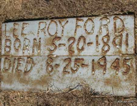 FORD, LEE ROY - Little River County, Arkansas   LEE ROY FORD - Arkansas Gravestone Photos