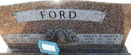 FORD, L LEROY - Little River County, Arkansas | L LEROY FORD - Arkansas Gravestone Photos