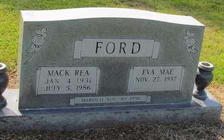 FORD, MACK REA - Little River County, Arkansas   MACK REA FORD - Arkansas Gravestone Photos
