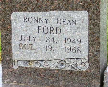 FORD, RONNY DEAN (CLOSEUP) - Little River County, Arkansas | RONNY DEAN (CLOSEUP) FORD - Arkansas Gravestone Photos