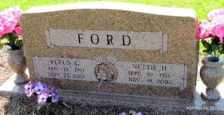 FORD, RUFUS G - Little River County, Arkansas | RUFUS G FORD - Arkansas Gravestone Photos