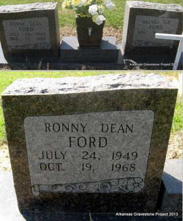 FORD, RONNY DEAN - Little River County, Arkansas | RONNY DEAN FORD - Arkansas Gravestone Photos