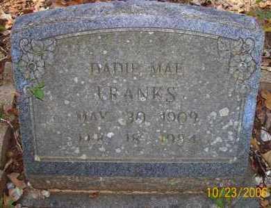 FRANKS, DADIE MAE - Little River County, Arkansas | DADIE MAE FRANKS - Arkansas Gravestone Photos