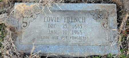 FRENCH, LOVIE - Little River County, Arkansas | LOVIE FRENCH - Arkansas Gravestone Photos