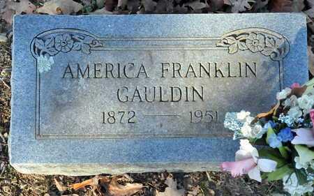 GAULDIN, AMERICA FRANKLIN - Little River County, Arkansas | AMERICA FRANKLIN GAULDIN - Arkansas Gravestone Photos