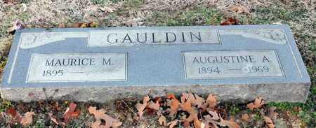 GAULDIN, AUGUSTINE A - Little River County, Arkansas   AUGUSTINE A GAULDIN - Arkansas Gravestone Photos