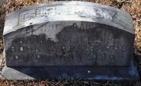 GILBERT, FANNIE - Little River County, Arkansas   FANNIE GILBERT - Arkansas Gravestone Photos