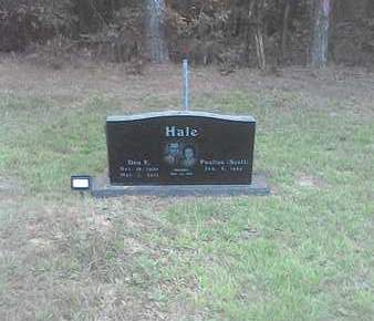 HALE,SR, DON E - Little River County, Arkansas   DON E HALE,SR - Arkansas Gravestone Photos